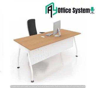 V Metal Leg Office Table