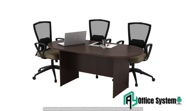 Oval Meeting Table