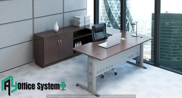 VQB 11 - SET - 6 Feet Managerial Level Office Table AY Office System