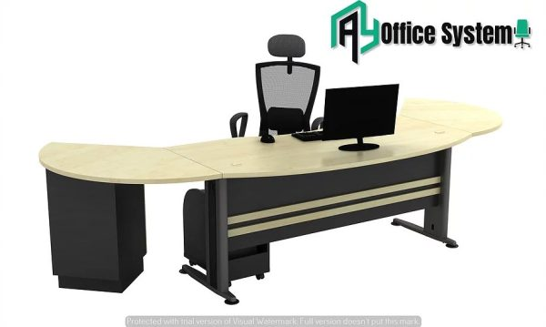 VTB 55 - SET - 6 Feet Managerial Level Office Table 1