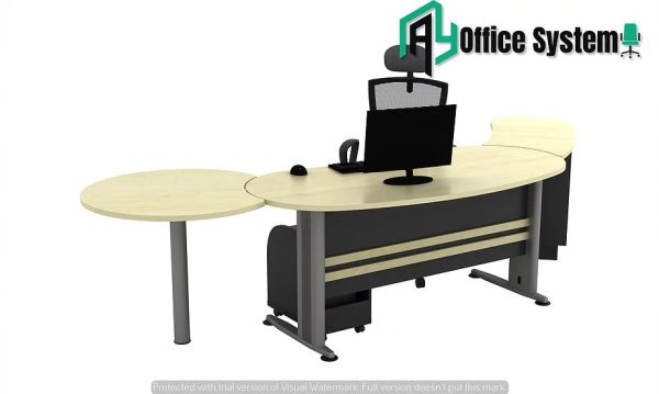 VTB 33 - SET - 6 Feet Managerial Level Office Table AY Office System
