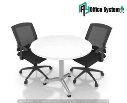 Tripod Leg Round Shape Discussion Table