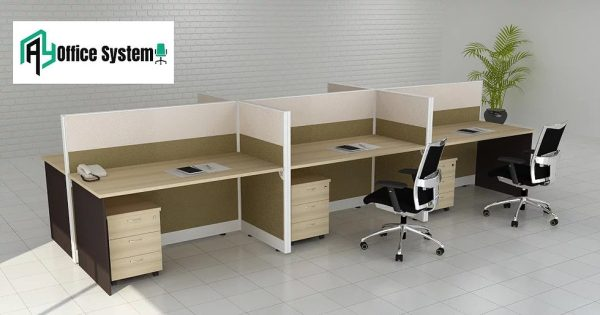 Rectangular Partition Office Workstation