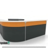 Reception Counter With Partition System