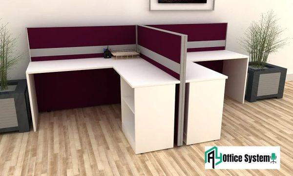 L Shape Partition Office Workstation