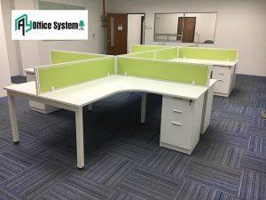 Modern L Shape Office Workstation