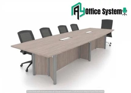 Pole Leg Meeting Table
