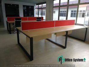 Rectangular Shape Partition Workstation