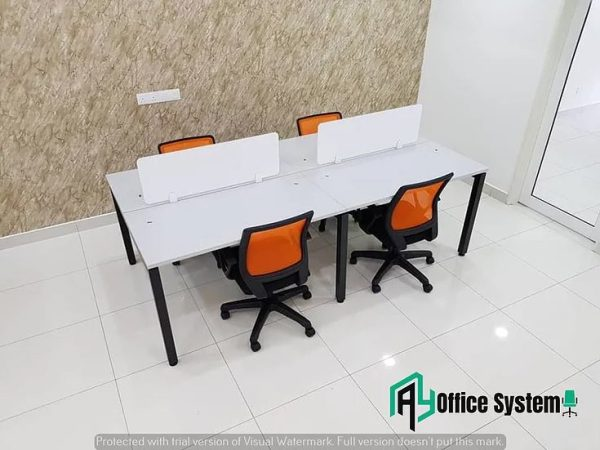 Rectangular Shape Partition Office Workstation