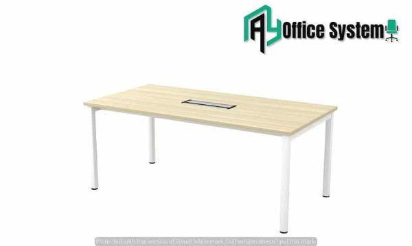 U Metal Leg Meeting Table