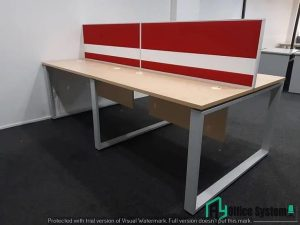 Rectangular Shape Workstation