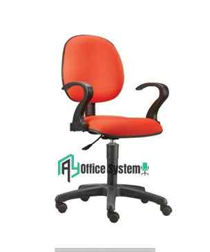 Fabric Typist Office Chair with Armrest