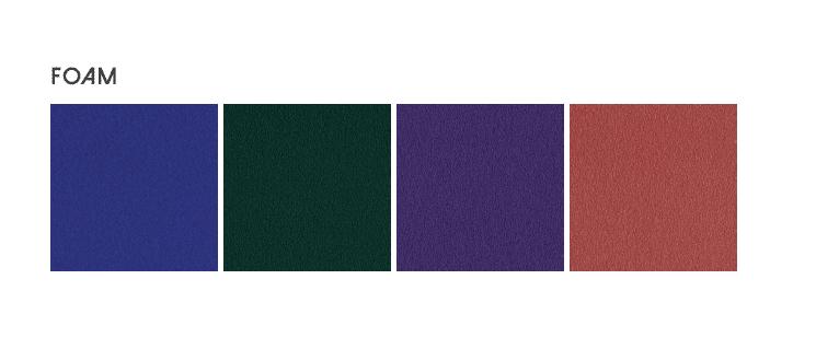 Foam Color Chart