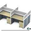 Rectangular Office Workstation