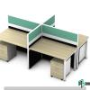 Rectangular Shape Office Workstation