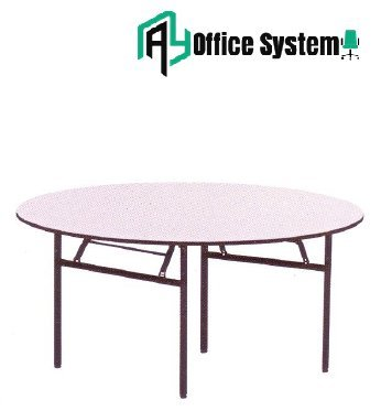 Round Shape Banquet Table - BTO 40 AY Office System