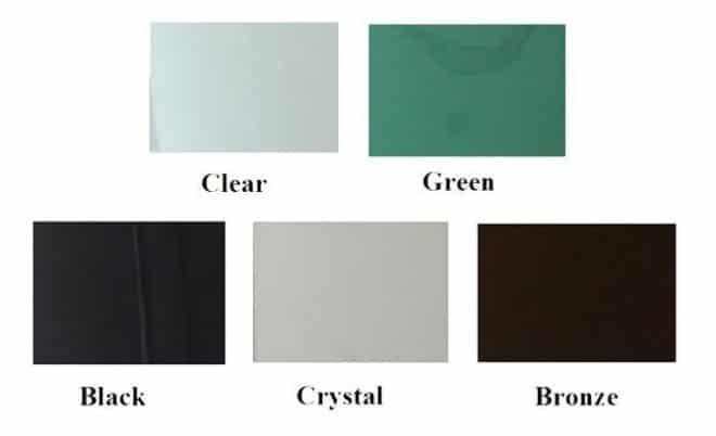 Glass color option