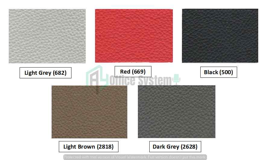 Leather Color Chart
