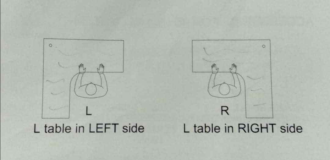 L Shape Sides Photo
