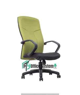High Back Modern Staff Office Fabric Chair