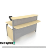Reception Counter With Partition System Concept 2