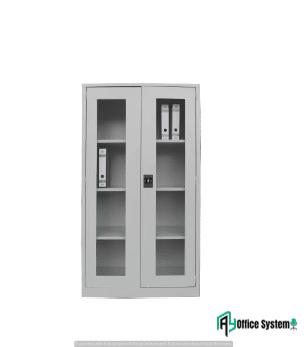 Full Height Cupboard with Glass Swinging Door