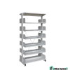Double Side Library Rack Without Side Panel