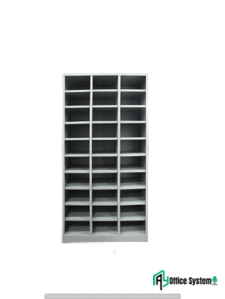 30 Compartment Steel Pigeon Hole