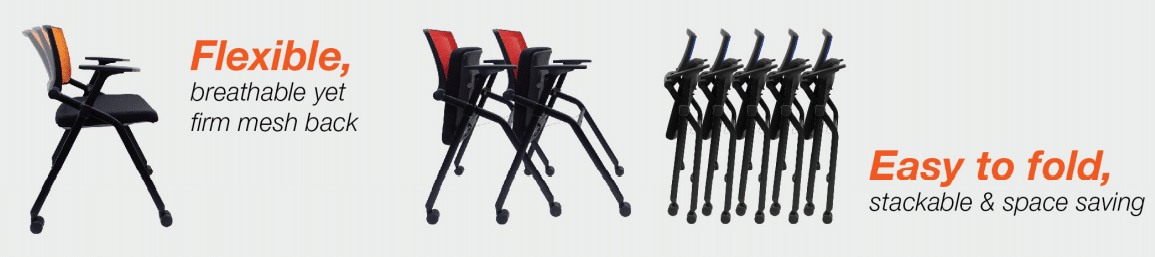 Training Chair - TC 999 AY Office System