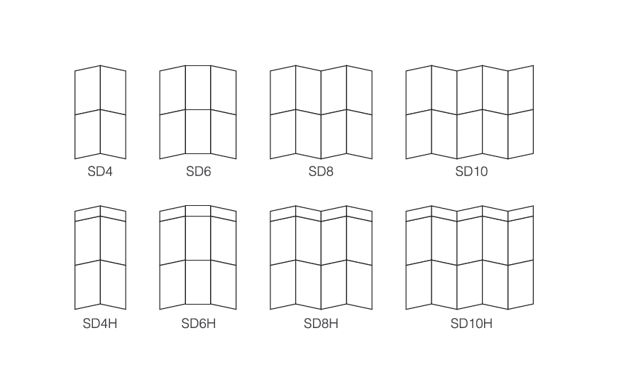Size Specification of Smart Folding Display Panel
